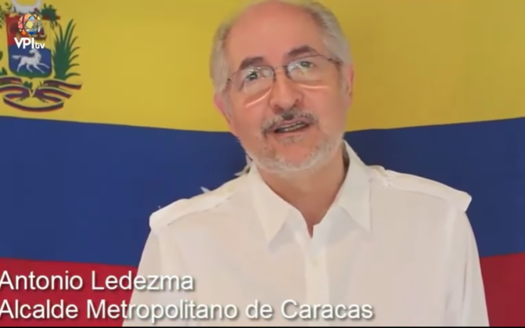 Sigue vigente el manifiesto de Antonio Ledezma post Oct 15